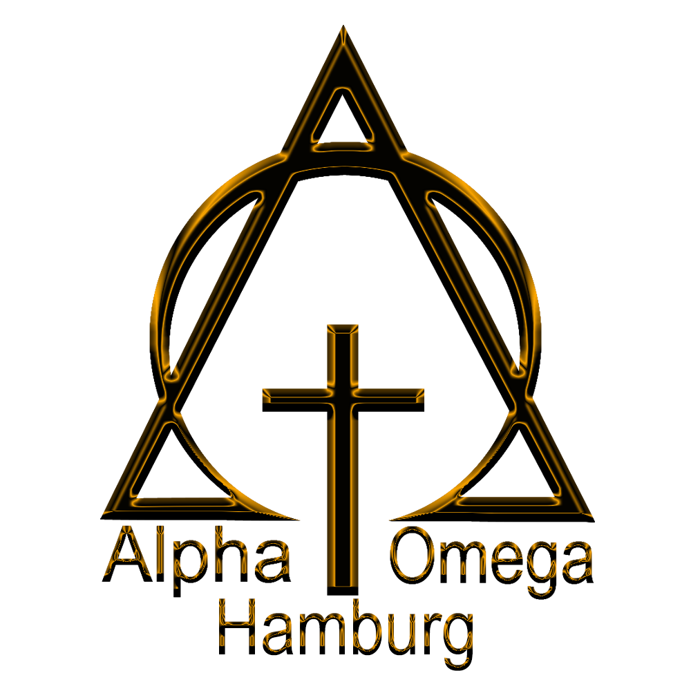 Alpha Omega Logo Golden Hamburg Alpha Omega